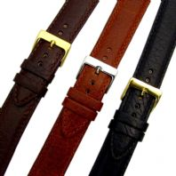 Verona XL Padded Leather Watch Strap Band 3 colours 16mm - 24mm D012